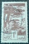 Stamps France -  MARRUECOS FRANCÉS. 1939. Ifran, Bosques de cedro
