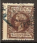 Stamps America - Puero Rico -  Puerto Rico. Alfonso XIII 137 (o)