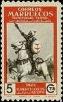 Sellos de Africa - Marruecos -  Marruecos 325 **. Pro Tuberculosos, Lucha