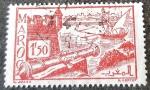 Stamps Europe - France -  MARRUECOS FRANCÉS 1945. Murallas de Salé