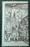 Sellos de Europa - Francia -  MARRUECOS FRANCÉS 1945. Fez
