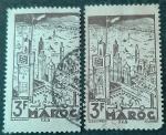 Stamps Europe - France -  MARRUECOS FRANCÉS 1945. Fez