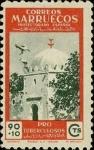 Sellos de Africa - Marruecos -  Marruecos 328 **. Pro Tuberculosos, Morabito