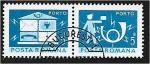 Stamps : Europe : Romania :  Correos y telecomunicaciones III