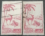 Stamps Europe - France -  MARRUECOS FRANCÉS 1947. Gacela