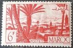Stamps Europe - France -  MARRUECOS FRANCÉS 1947. Oasis