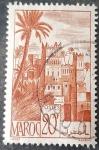 Stamps Europe - France -  MARRUECOS FRANCÉS 1947. Ouarzazat. Kasbah.