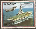 Stamps Paraguay -  Portaviones