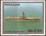 Sellos de America - Paraguay -  Portaviones
