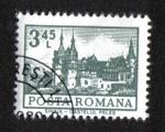 Stamps : Europe : Romania :  Definitivas - Edificios. Sinaia - Castillo de Peles