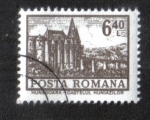 Stamps : Europe : Romania :  Definitivas - Edificios. Hunedoara - Castillo de Huneiazilor