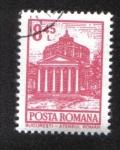 Stamps : Europe : Romania :  Definitivas - Edificios. Bucarest - Ateneo