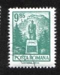 Stamps : Europe : Romania :  Definitivas - Edificios. Ciudadela de Deva