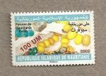 Sellos del Mundo : Africa : Mauritania : Adornos perlados