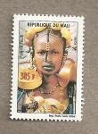 Stamps Mali -  Mujer Peulh