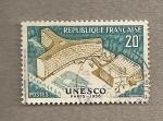 Sellos de Europa - Francia -  Sede de la UNESCO