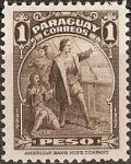 Stamps : America : Paraguay :  450 Aniversario Descubrimiento de America
