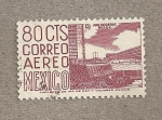 Stamps Mexico -  Arquitectura moderna