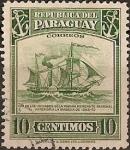 Sellos de America - Paraguay -  Antiguo Barco Mercante