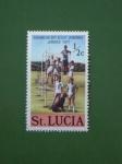 Stamps America - Saint Lucia -