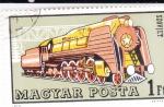 Sellos de Europa - Hungría -   Locomotora soviética