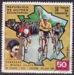 Sellos de Africa - Guinea Ecuatorial -  58 tour de Francia 1972