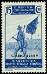 Sellos de Africa - Marruecos -  Cabo Juby 089 **. Alzamiento