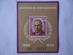 Stamps America - Colombia -  Ministerio de Comunicaciones-Emisión de Lujo-Alfonso López Pumarejo (18861959) 75°Aniv de su Nacimie