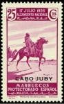 Sellos de Africa - Marruecos -  Cabo Juby 091 **. Alzamiento