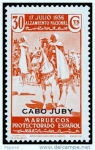Stamps Africa - Morocco -  Cabo Juby 092 **. Alzamiento