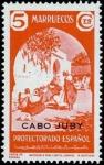 Sellos de Africa - Marruecos -  Cabo Juby 112 **. Paisajes