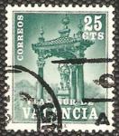 Stamps of the world : Spain :  6 - Plan Sur de Valencia, Casilicio de San Vicente Ferrer