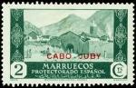Sellos de Africa - Marruecos -  Cabo Juby 068 ** Paisajes.