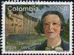 Stamps Colombia -  Teresa Cuervo
