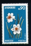 Stamps Andorra -  narciso