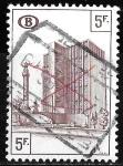 Stamps : America : Belize :  Bélgica-cambio
