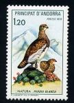 Stamps Europe - Andorra -  Perdiz blanca