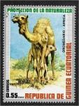 Stamps : Africa : Equatorial_Guinea :  Animales africanos. Dromedario (Camelus dromedarius)