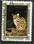 Stamps : Africa : Equatorial_Guinea :  Bicentenario Americano (IV) (Animales). Ocelote (Leopardus pardalis)