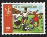 Stamps : Africa : Equatorial_Guinea :  Juegos Olímpicos de Verano de 1980 - Moscú. Fútbol