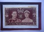 de Europa - Reino Unido -  King George VI y Queen Reina Elizabeth - Coronación 12 de Mayo 1937