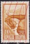 Stamps Argentina -  Puente del Inca - Mendoza