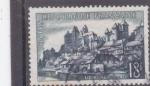 Stamps : Europe : France :  panorámica de Uzerche