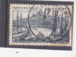 Stamps : Europe : France :  panorámica de Marsella