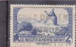 Stamps : Europe : France :  El molino de Alphonse Daudet