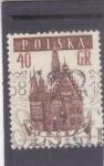Stamps : Europe : Poland :  Iglesia de Santa Isabel WIROCLAW