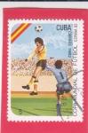 Stamps : America : Cuba :  Mundial España
