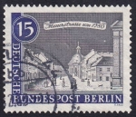 Stamps : Europe : Germany :  Mauerstrasse