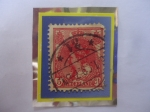 Stamps Europe - Netherlands -  Paises Bajos-Queen Wilhelmina (1880-196)-Sello 5 Céntimos, Serie:1899-1930