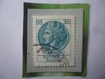 Stamps : Europe : Italy :  Siracusa-Moneda de plata de la Ciudad de Siracusa (Sicilia)-Decadracmas de Dionisio I